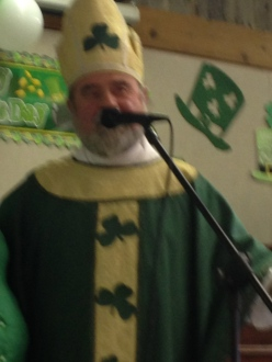 St Patrick himself!