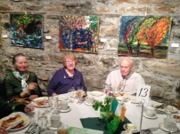 A familiar face to the family, Pat Cassidy enjoying lunch at the Irish Cultural Centre!