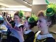 Some of the Sue Fay Healey Irish Dancers in Ottawa!