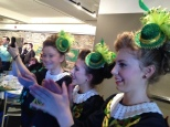 Some of the Sue Fay Healey Irish Dancers in Ottawa!