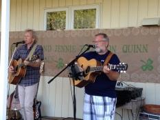 Pat and Paddy singing away