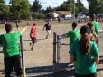 Running to third!