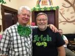 Dai Bassett and Paddy Kelly