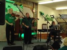 Denis Harrington, Randy Foster and Cherryl Fitzpatrick