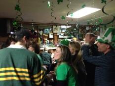A few folks at the Douglas Tavern