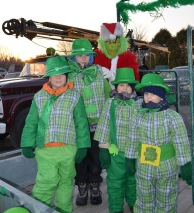 More leprechauns and a Christmas Grinch!