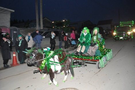 An Irish pony ride!