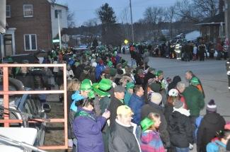 Douglas St Patrick's day parade