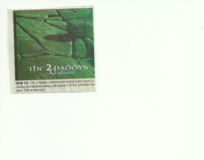 The2Paddy's CD Glengarry News
